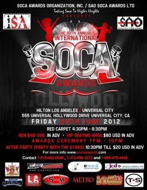 International Soca Awards 2012
